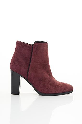 Bottines/Boots rouge ATELIER MERCADAL pour femme