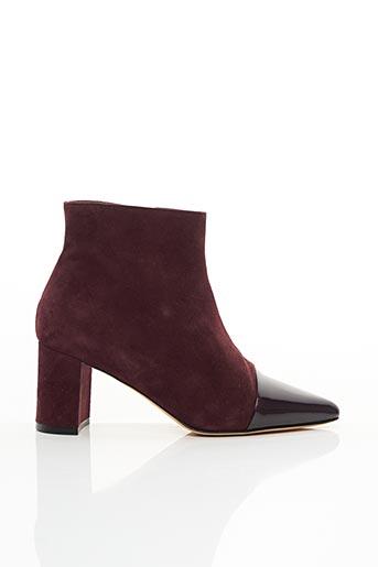 Bottines/Boots rouge CRISTINA MILLOTTI pour femme