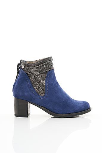 Bottines/Boots bleu DKODE pour femme