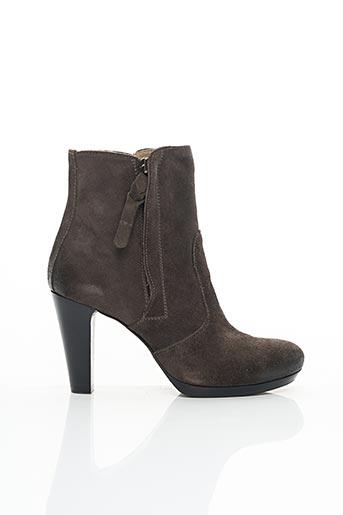 Bottines/Boots gris ALBERTO FERMANI pour femme