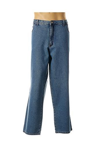 Jeans coupe droite bleu MASTER pour homme