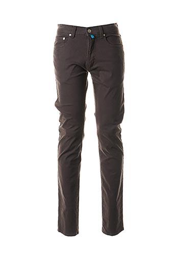 Jeans coupe droite gris PIERRE CARDIN pour homme