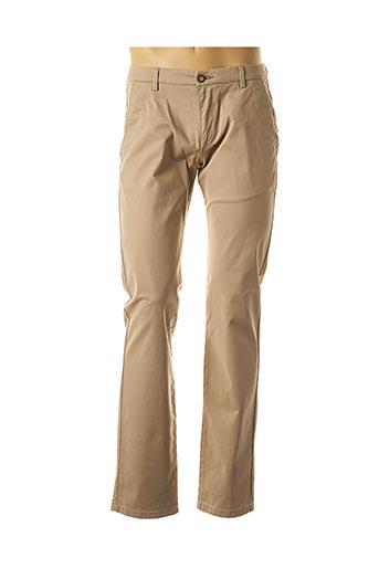 Pantalon casual beige BUGATTI pour homme
