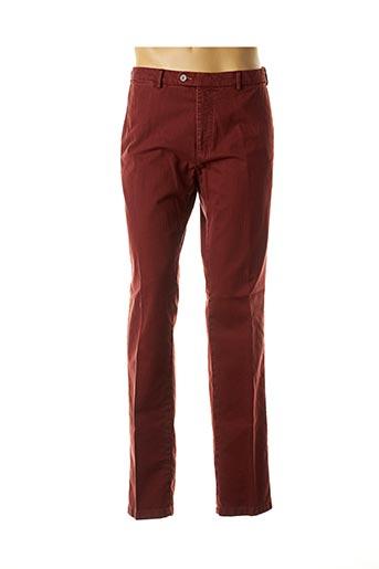 Pantalon casual rouge BUGATTI pour homme