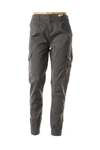 Pantalon casual gris DEELUXE pour femme