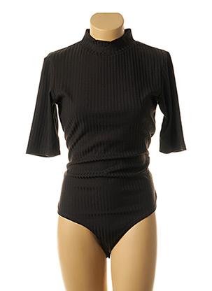 Body noir ICHI pour femme