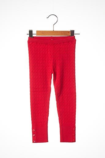 Legging rouge MAYORAL pour fille