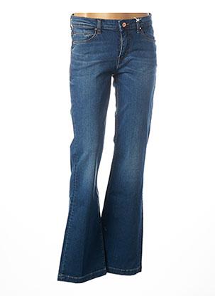 Jeans bootcut bleu GUESS pour femme