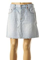 Jupe courte bleu LEVIS pour femme seconde vue