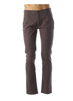 Pantalon casual gris HOPENLIFE pour homme
