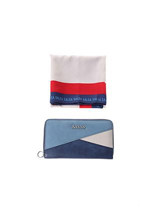 Portefeuille bleu SALSA pour femme