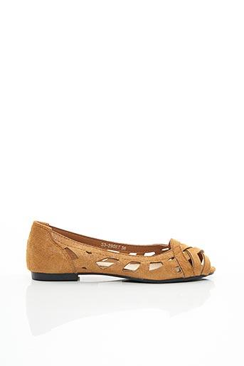 Sandales/Nu pieds beige ANOUSHKA pour femme