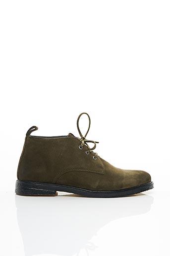 Bottines/Boots vert BLACKSTONE pour homme