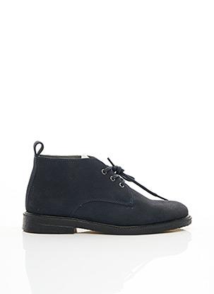 Bottines/Boots bleu BLACKSTONE pour homme