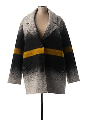 Manteau long gris MADO ET LES AUTRES pour femme