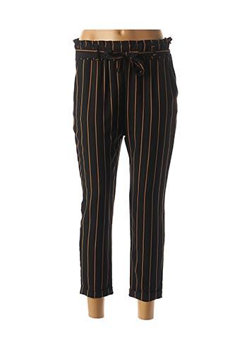 Pantalon 7/8 noir MINSK pour femme