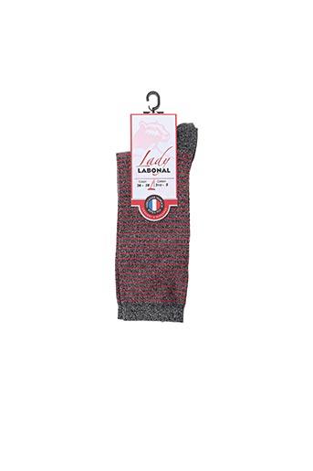 Chaussettes gris LABONAL pour femme