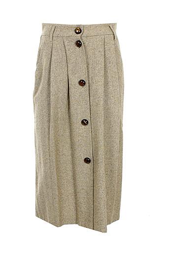 Jupe longue beige FORTE-FORTE pour femme