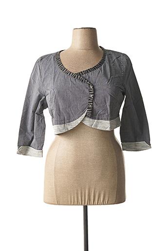Veste casual gris VIRGINIE & MOI pour femme