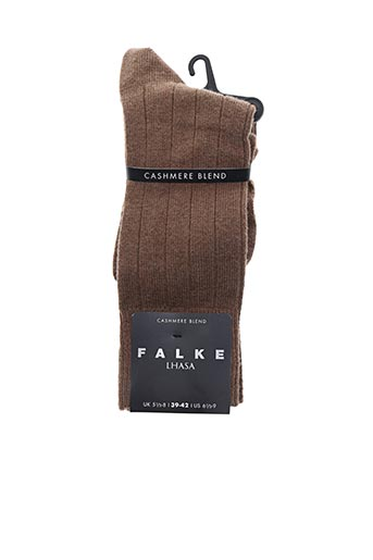 Chaussettes marron FALKE pour homme