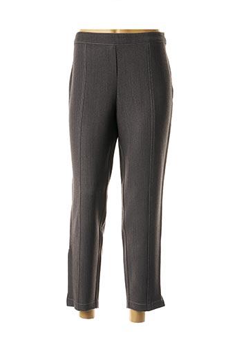 Pantalon 7/8 gris QUATTRO pour femme
