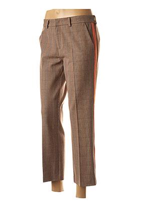 Pantalon 7/8 orange FIVE pour femme