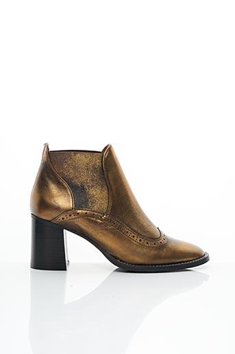 Bottines/Boots jaune LIBRE COMME L'AIR pour femme