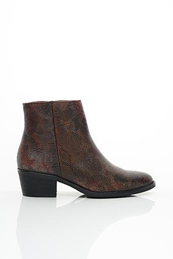 Bottines/Boots marron LIBRE COMME L'AIR pour femme