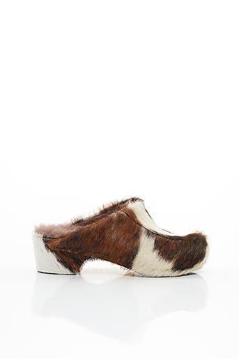 Mules/Sabots marron LADY pour femme
