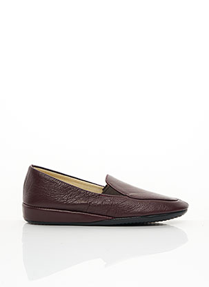 Chaussures de confort rouge EREL pour femme