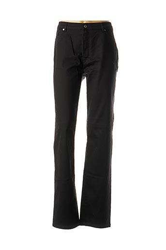 Jeans coupe droite noir SAINT HILAIRE pour femme