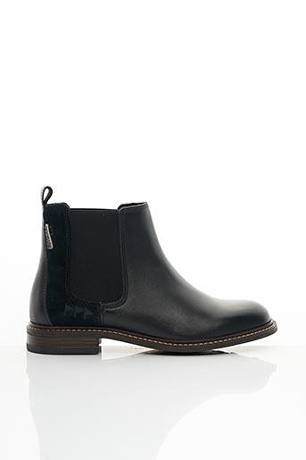 Bottines/Boots noir COTEMER pour femme