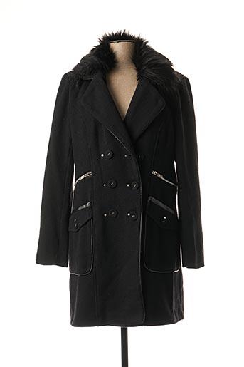 Manteau long noir ET COMPAGNIE pour femme