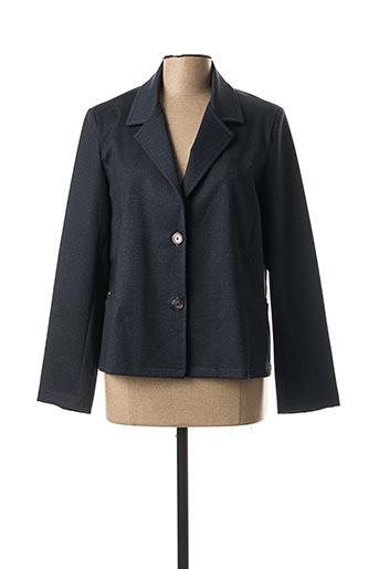 Veste chic / Blazer bleu ELSSA pour femme