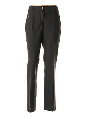 Pantalon chic gris JULIE GUERLANDE pour femme