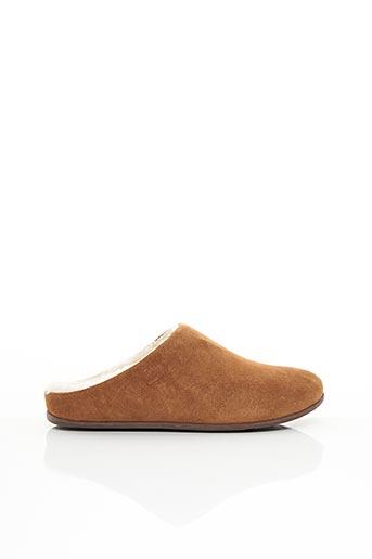 Chaussons/Pantoufles marron FITFLOP pour femme