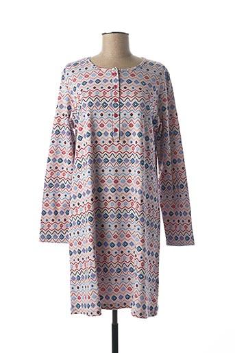 Chemise de nuit gris ARABESCO pour femme