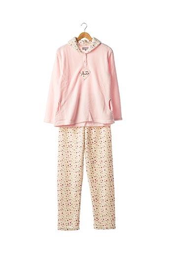 Pyjama rose COCODREAM pour femme
