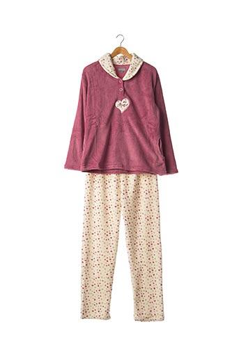 Pyjama violet COCODREAM pour femme