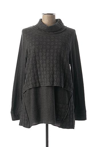 Robe courte gris CAPUCCINO pour femme