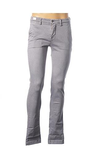 Pantalon casual gris REPLAY pour homme