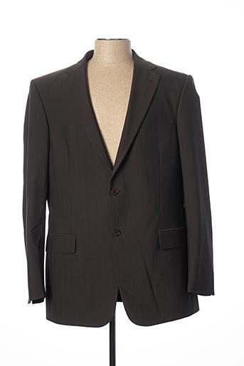Veste chic / Blazer marron BRUNO SAINT HILAIRE pour homme