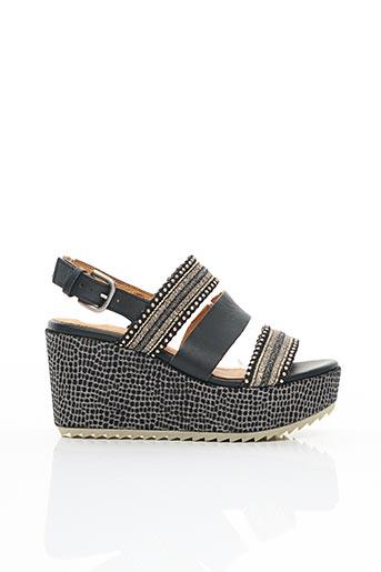 Sandales/Nu pieds noir MINKA DESIGN pour femme