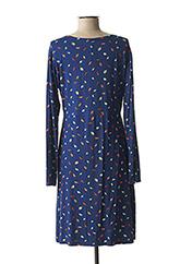 Robe mi-longue bleu PRINCESSE NOMADE pour femme seconde vue
