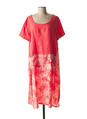 Robe mi-longue rose KOKOMARINA pour femme seconde vue