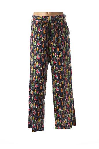 Pantalon casual bleu BLA-BLA pour femme
