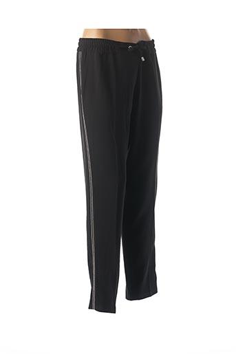 Pantalon casual noir COTTONADE pour femme