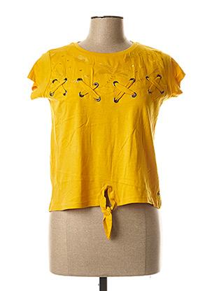 Col V jaune CHIPIE pour fille