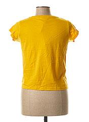 Col V jaune CHIPIE pour fille seconde vue
