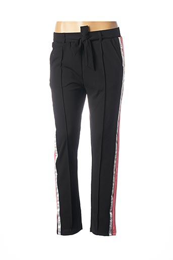 Pantalon casual noir BECKARO pour femme